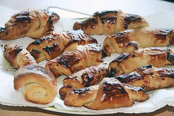 Schoko-Croissants